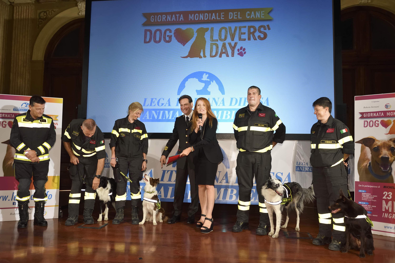 Dog Lovers Day Lon Brambilla Premia I Cani Eroi Nelcuoreorg